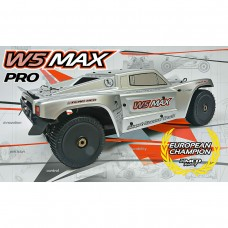 W5 SCT Short Course Max Pro Rolling Chassis