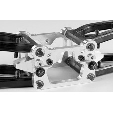 Alum. front axle mount A and B set