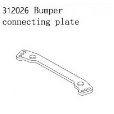 Bumper connecting plate 1:8 buggy
