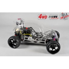 FG Buggy Beetle 4WD RTR clear body