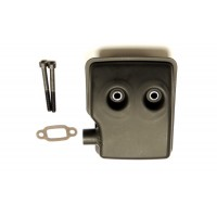 Heli Muffler for RC Engines