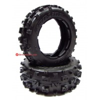 'Pro-line Bow-Tie Front Tire Set for HPI Baja 5B