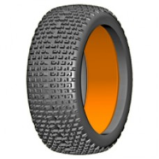 1:6 BU-BIG - MICRO - P1 Soft - 180mm Donut Tyre with Insert - 1 Pair