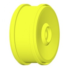 1:6 BU-BIG - WHEEL 132mm Y Yellow - Fixing with 24mm Exagon - 1 Pair