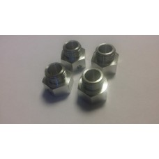 Losi 5ive Hex wheel hub for MCD rim +4mm. 4 pc.