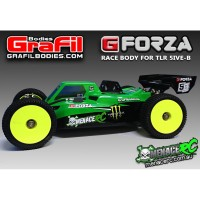 'Grafil G-Forza Body 2mm Losi 5B & 5T